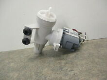 GE WASHER DRAIN PUMP PART   WH23X25461