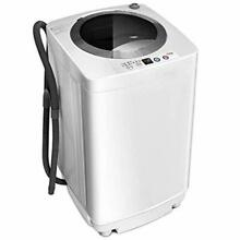 Portable Compact Automatic Washing Machine Electric Apartment Load Size 8 LB