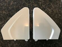 Whirlpool Kenmore Maytag Washer Dryer End Caps White 10251357   10251354