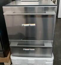 NEW OUT OF BOX FISHER   PAYKEL STAINLESS STRAIGHT HANDLE DISHWASHER DISHDRAWERS
