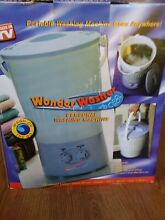 Wonder Washer Blue 25 Inch Holds 7 Liters Portable Washing Machine