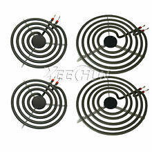 4pcs MP22YA Electric Range Burner Element Unit Set 2  MP15YA 6  2  MP21YA 8  USA