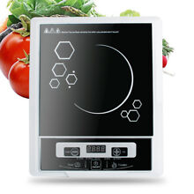 2000W Digital Electric Single Induction Cooker Burner Cooktop Hot Plat 110V