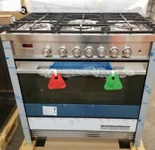 NEW OUT OF BOX FISHER PAYKEL FREESTANDING 36  GAS RANGE STAINLESS STEEL