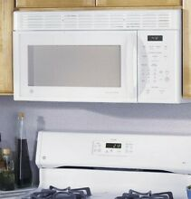 GE Spacesaver JVM3160DFCC 1 6 Cu Ft  over The Range Microwave Oven