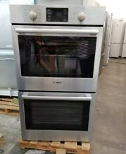 REFURBISHED BOSCH 30   DOUBLE ELECTRIC  WALL CONVECTION OVEN 500 SERIES
