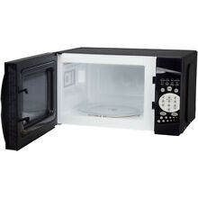 Magic Chef 0 7 Cubic Feet 1000W Countertop Microwave Oven   Black