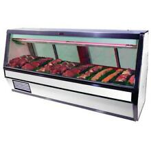 Howard McCray   SC CMS40E 8   100 1 2  x 53  White Red Meat Case
