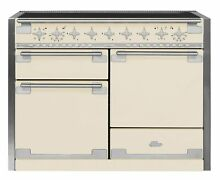AGA AEL48IN Elise Series 48 Inch Wide 6 Cu  Ft  Slide In Electric Range with Gli