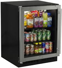 Marvel MA24BC1L Stainless Steel 24  Wide 18 Bottle and 95 Can Built In Energy