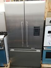NEW OUT OF BOX FISHER PAYKEL COUNTER DEPTH REFRIGERATOR WITH WATER DISPENSER