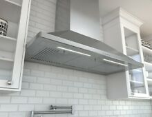 Zephyr ZSP E48B  1200 CFM 48  Wide Wall Mounted Range Hood from the Siena Pro