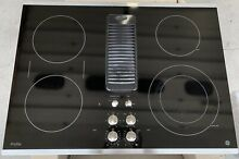 GE Profile Black 30  Downdraft Electric Cooktop