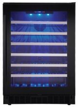 Danby SSWC056D1  24  Wide 48 Bottle Capacity Free Standing Wine Cooler with LED