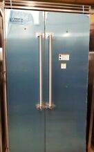 OUT OF BOX VIKING 42 INCH STAINLESS STEEL BUILT IN REFRIGERATOR FREEZER