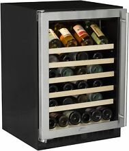 Marvel ML24WS0L  24  Wide 45 Bottle Built In Single Zone Wine Cooler with