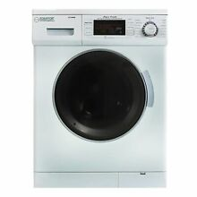 1200 RPM New Version 2019 Compact Convertible Combo Washer White