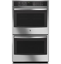 GE Profile  Series 30  Built In Double Convection Wall Oven PT9550SFSS