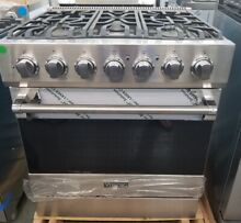 VIKING 30  ALL GAS RANGE VIKING 3 SERIES STAINLESS STEEL 5 BURNERS