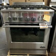 REFURBISHED DCS 30  PRO STYLE GAS RANGE STAINLESS