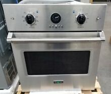 VIKING 27  PROFESSIONAL SERIES 5 STAINLESS STEEL SINGLE WALL OVEN