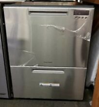 NEW OUT OF BOX FISHER PAYKEL DOUBLE STAINLESS DISHWASHER