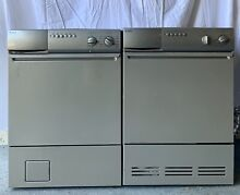 USED Asko Stackable Washer W0621 and Dryer T711