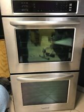 KitchenAid KEBS207SSS Wall Convection Double Oven