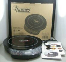 Nuwave 2 Precision Induction Electric Portable Cooktop Model 30151 NEW Open Box