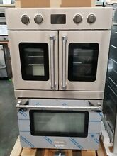 REFURBISHED 30  BLUESTAR DOUBLE ELECTRIC WALL OVEN FRENCH AND DROP DOWN DOORS