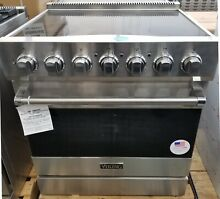 OUT OF BOX VIKING 30  ELECTRIC  RANGE STAINLESS STEEL 5 RADIANT BURNERS