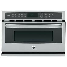 GE Stainless Steel 27 inch Electric Speed Oven   Silver Silver