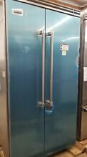 OUT OF BOX VIKING 42 INCH STAINLESS BUILT IN REFRIGERATOR FREEZER