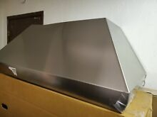 Wolf 48  Pro Wall Mount Chimney Hood  Baffled Filters DENTED PWC482418 DEFECTIVE