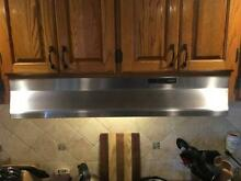 Broan 42000 Series 30 in  Under Cabinet Range Hood with Light in Stainless Steel