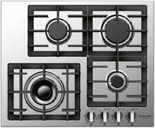Fulgor Milano F4GK241 24 W Gas Cooktop   Stainless Steel