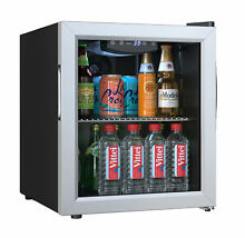 EdgeStar BWC71 Stainless Steel 18 W 52 Can Capacity Extreme Cool Beverage Center