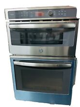 Open Box 27  Built In GE Profile Oven Microwave Stainless Steel PK7800SK5SS