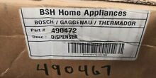 Bosch Dishwasher Soap   Rinse Aid Dispenser 00490467 490467 00490472 490472 OEM