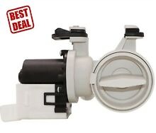 Washer Drain Pump Motor Assembly For Kenmore Elite HE3 Kitchenaid Whirlpool Duet
