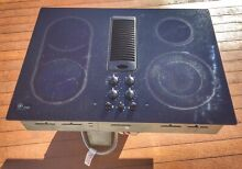 GE Profile Radiant Electric Downdraft Cooktop   Range   Stovetop   FREE SHIPPING