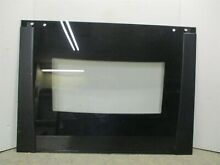 WHIRLPOOL RANGE GLASS DOOR  BLACK  PART  8303289