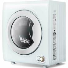2 65 Cu Ft Electric Compact Laundry Dryer Capacity Portable Clothes Dryer 9 LBS