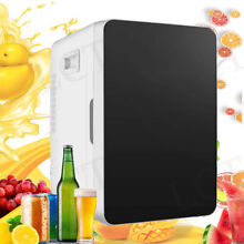Upgrade 20L LCD Mini Fridge Refrigerator Freezer Single Door Compact Fridge Dorm