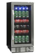 NewAir 96 Can Compact Beverage Cooler interior LED light BRAND NEW