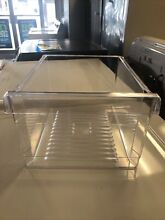 Whirlpool Refrigerator Crisper Pan Part   WP2164186 Clear