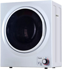 Panda 110V Electric Portable Compact Laundry Clothes Dryer  1 5 cu ft  Stainless
