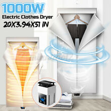 1000W Foldable Electric Clothes Dryer Timing Quick drying Machine Dormitory Home
