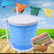 New Portable Mini Traveling Washing Machine ABS Compact Manual Washer Spin Dryer