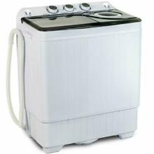 26LBS Portable Washing Machine 18lbs Washer 8lbs Spinner for Dorms Apartments